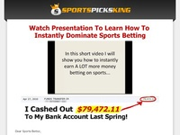 Sports Picks King Betting System