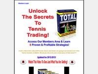 Total Tennis Trading 8 System Package